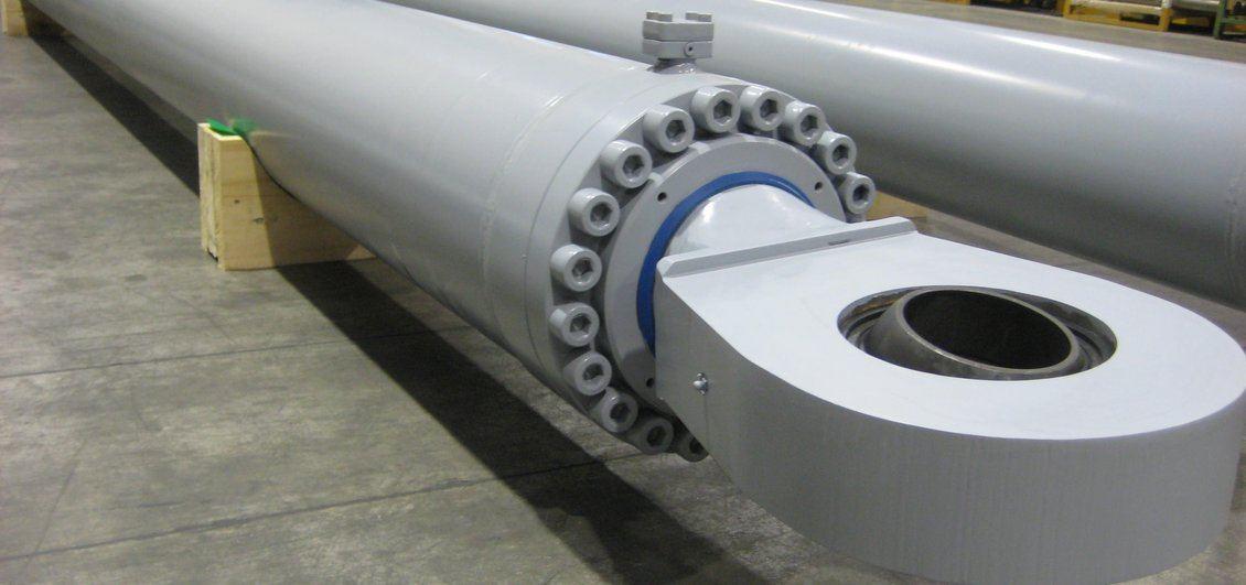 Dettaglio cilindro per macchine da perforazione