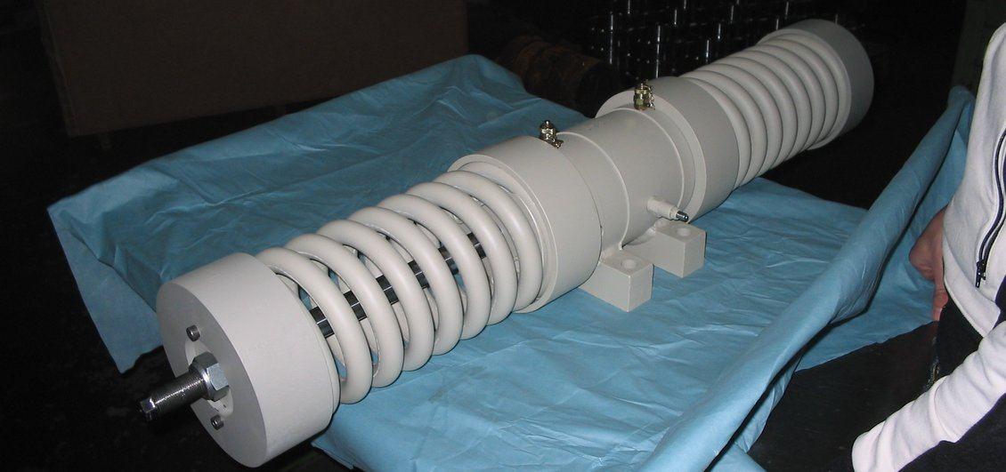 Ammortizzatore sismico di una costruzione - supporto alle fondazioni