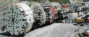 scavatore per tunnel