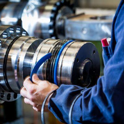 montaggio cilindri